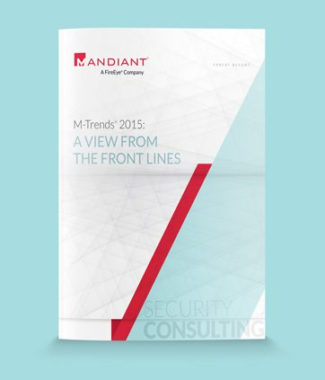 Mandiant : M-Trends 2015 Threat Report